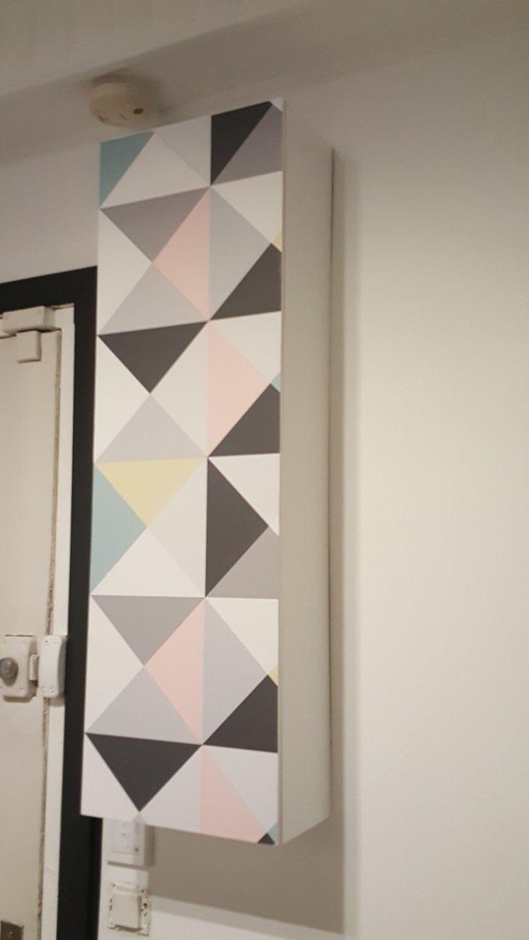 Cache Tuyau Sous Chaudiere camouflage compteur électrique fait !? | idée déco
