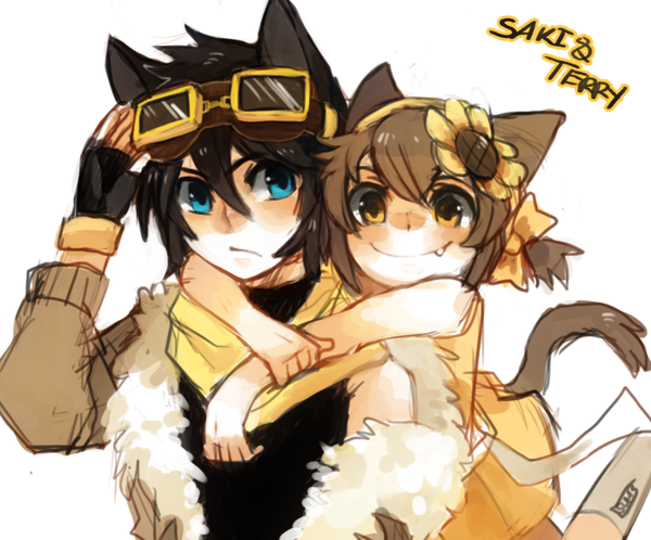 Terry and Saki by on deviantART