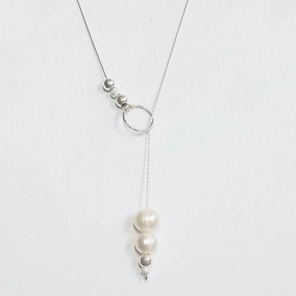 DIY bijoux: un collier de perle en argent