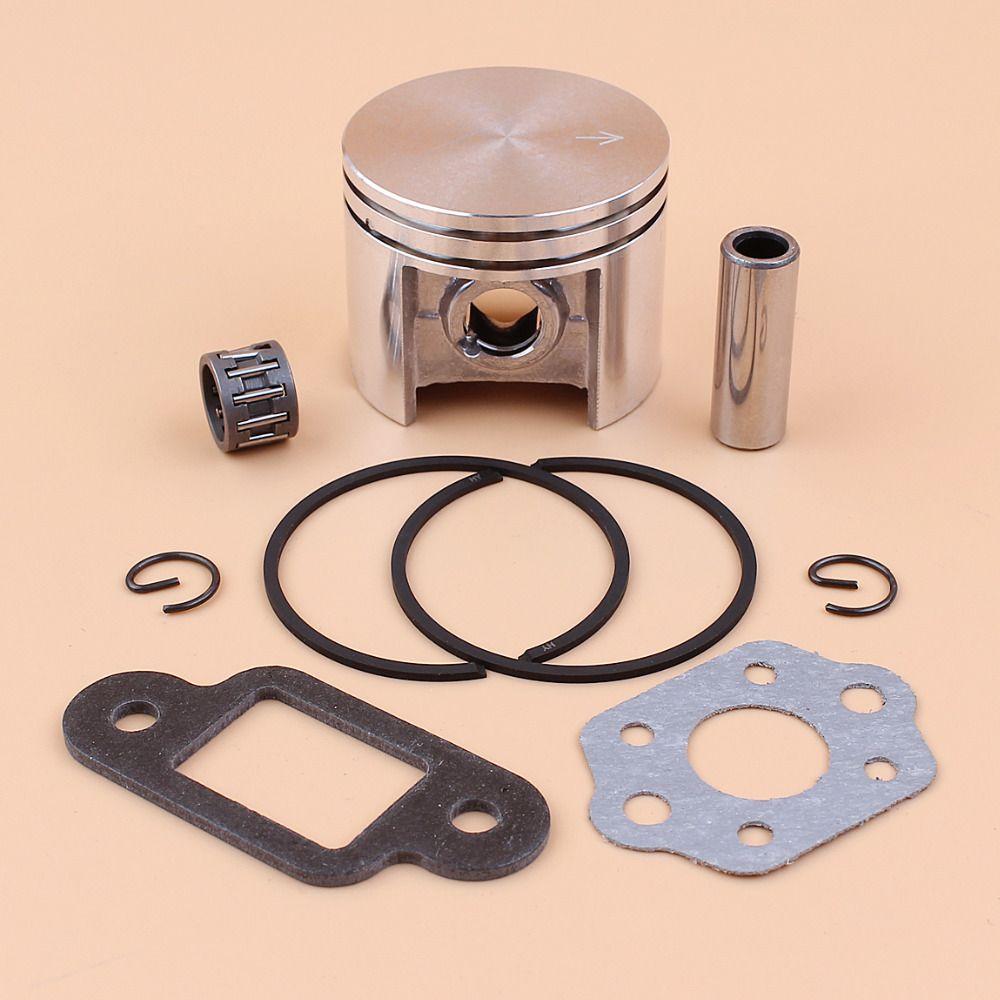 42 5mm Piston Rings Bearing Muffler Gasket Kit For Stihl Ms250 025