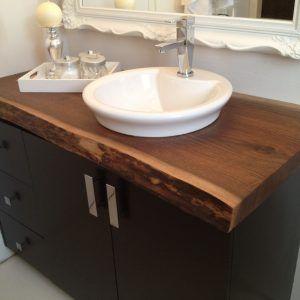 Solid Wood Bathroom Vanity Top With Images Diy Bathroom Vanity