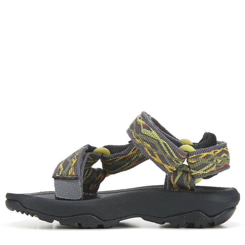 9e62b820fdd4 Teva Kids  Hurricane Outdoor River Sandal Toddler Shoes (Black Orange)