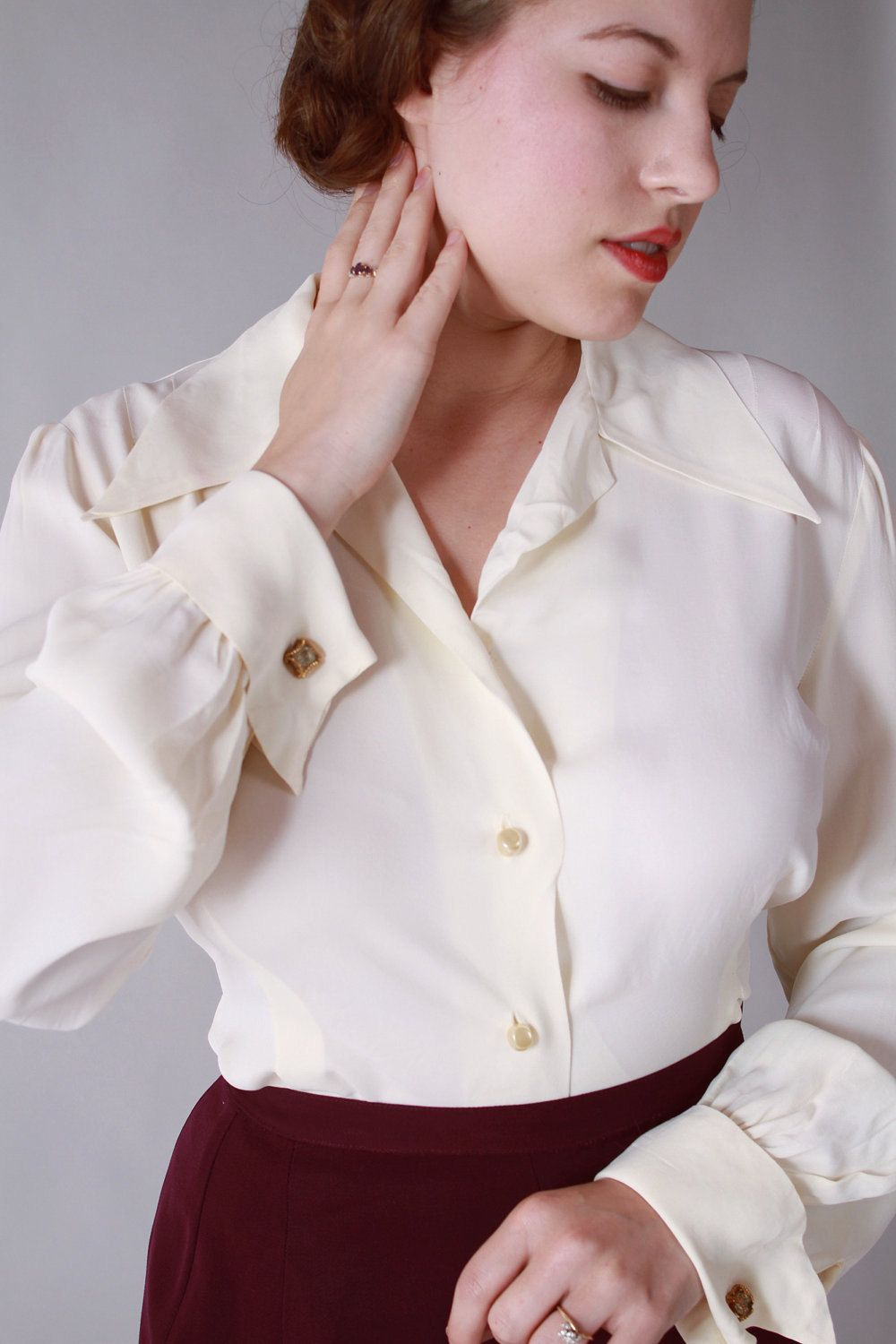 Fantastic Womenu0026#39;s White Fitted Cotton Stretch Shirt - French Cuffs | Hawes And Curtis