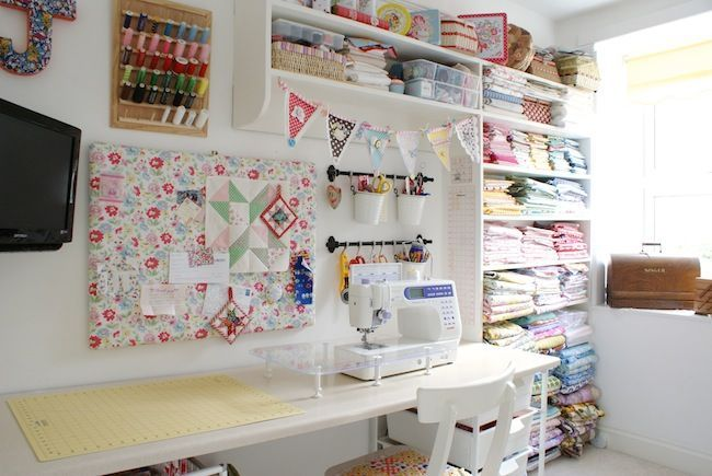 Sewing Room Designs And Layouts Found On