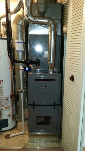 2 Stage Variable Speed Ruud Furnace Installed In Hoffman Estates Il By Compass Heating And Furnace Installation Heating And Air Conditioning Hvac Installation