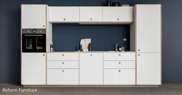 Reform Design-Fronten für IKEA-Küchen aus Dänemark - küche landhausstil ikea