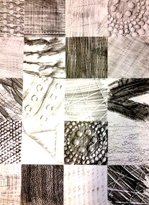 frottage art - Google Search | Art Ideas for School | Pinterest ...