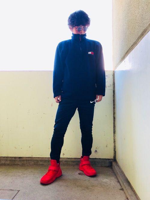 真っ赤な靴 . . . . . @fujisawa