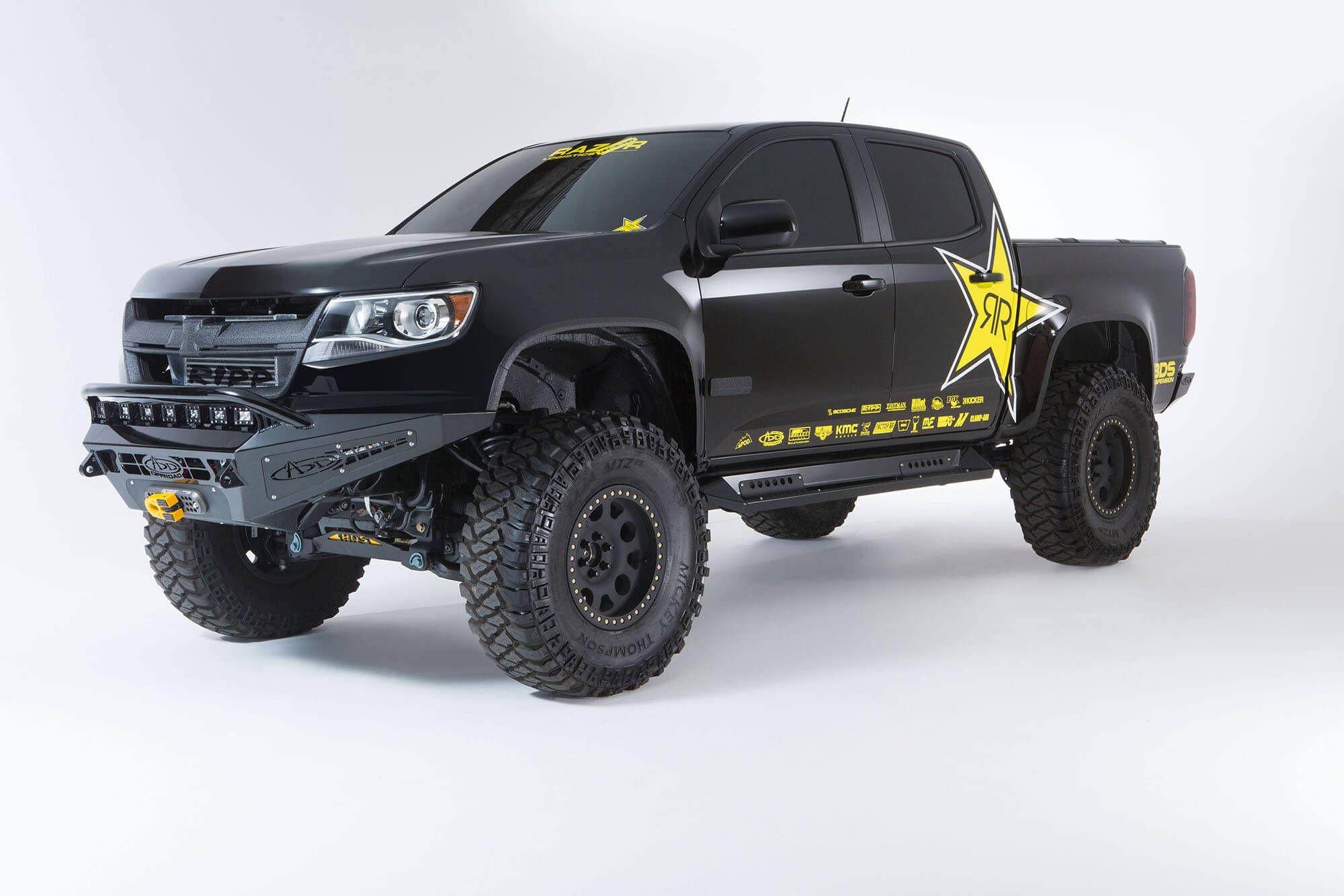 2015 Up Chevy Colorado GMC Canyon HoneyBadger Winch Front Bumper
