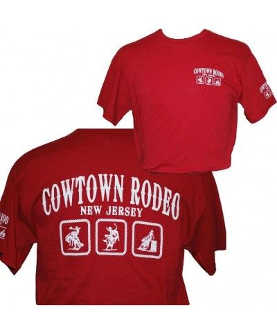 Cowtown Rodeo NJ, Red T-Shirt | Cowtown Rodeo Apparel