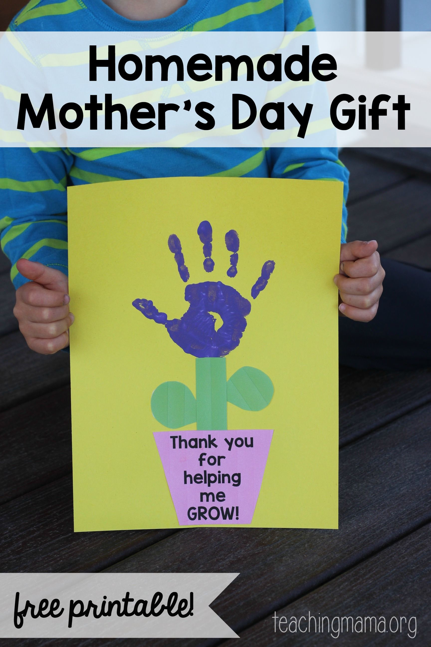 Thank you for helping me grow craft teacher craft and gift for Thank you crafts for teachers