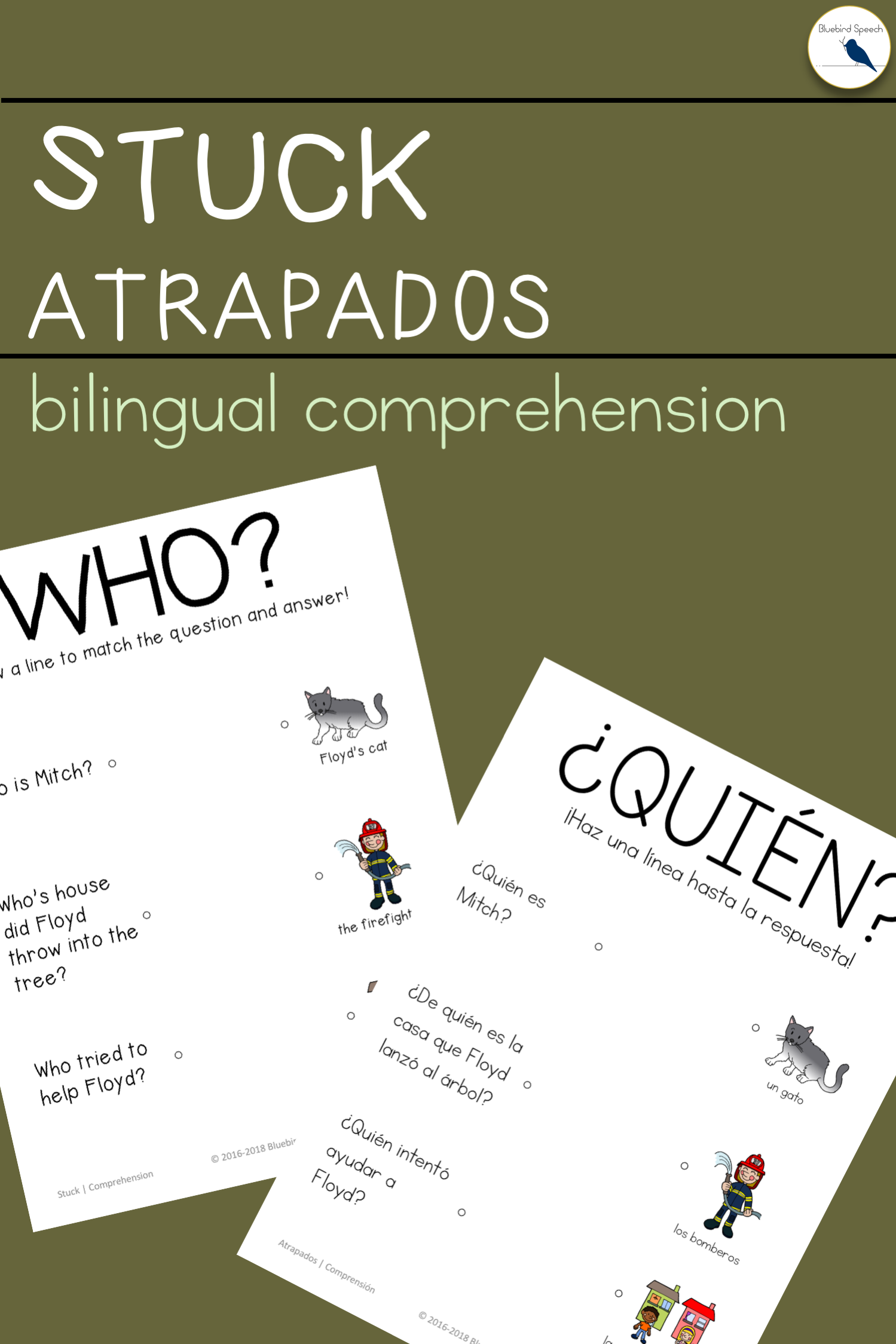 Bilingual Bundle Stuck Book Companion For Speech Therapy