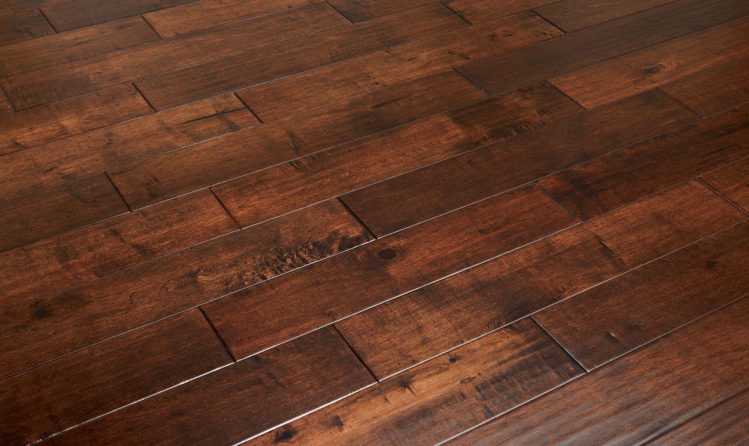 Grant Dark Solid Wood Floors Maple
