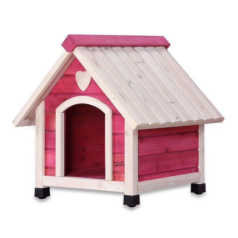 Pet Squeak Pink Arf Frame Dog House Extra Small Small Dog