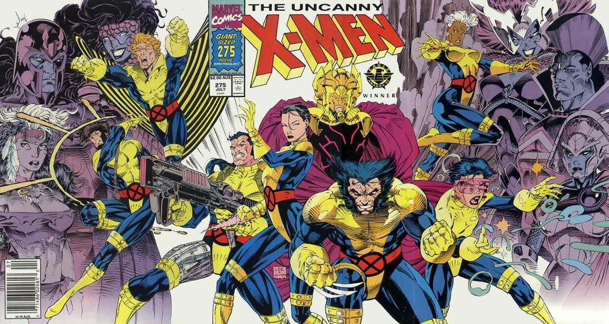 X Men By Chris Claremont Jim Lee Whilce Portacio Vol 2 Omnibus Review Uncanny X Men Jim Lee Art Comic Book Artists Jim Lee