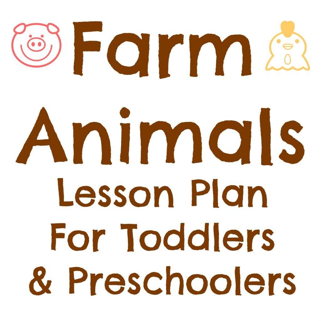 Farm Animals Lesson Plan | Lesson Plans | Pinterest