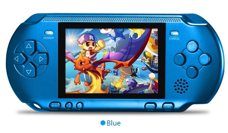 68.80$  Watch now  - New Handheld Game Console 3.2 inch Children Game Machine CoolBaby Built 318 Games Classic FC Game PSP Support AV Double Player