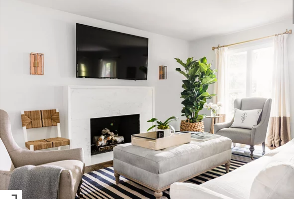 7 Tricks For Organizing Your Furniture In A Small Living Room The Cottage Market Living Room Furniture Arrangement Living Room Furniture Layout Small Living Room Furniture #organizing #a #small #living #room