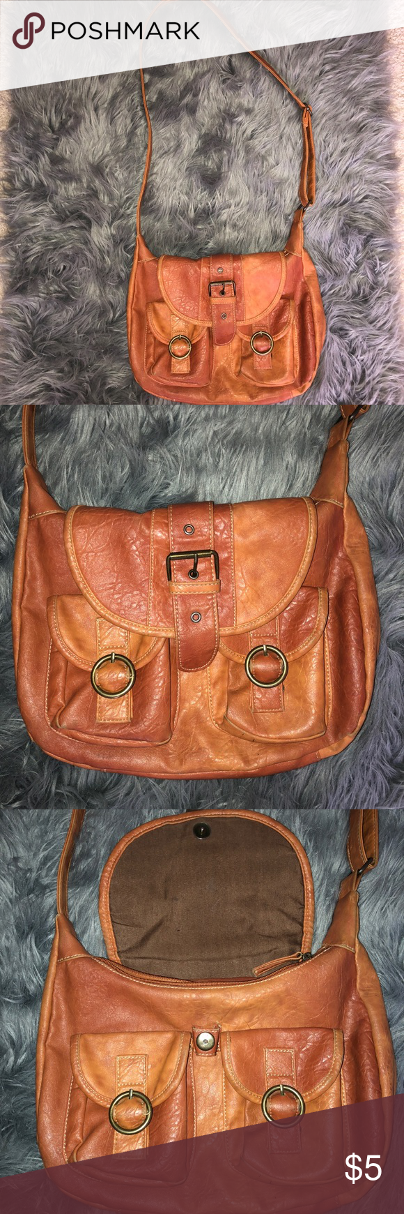 False Leather Bag - comes as it is - bought from Poshmark - conditions  good  household  » smoke free » pet free   always open to offers. no lowballers    ... 189b85764f