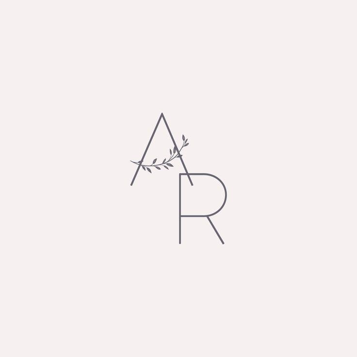 Modern floral logo, design, branding, logo, graphic design, modern branding. #graphicdesign