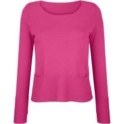 Photo of Alba Moda, pullover with pockets, rosé Alba Moda