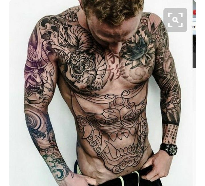 Popular Tattoos And Their Meanings Tattoos Torso Tattoos