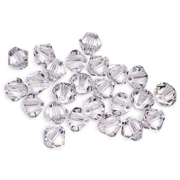 5301 / 5328-4-cr Swarovski Crystal 4mm Bicone Crystal