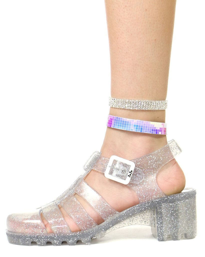 Jelly shoes fashion, Jelly sandals