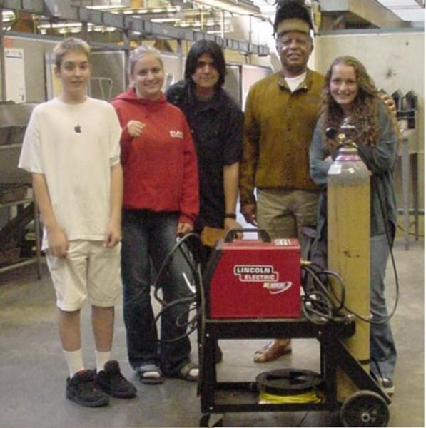 High School Students Took A Jr College Welding Class With Me In