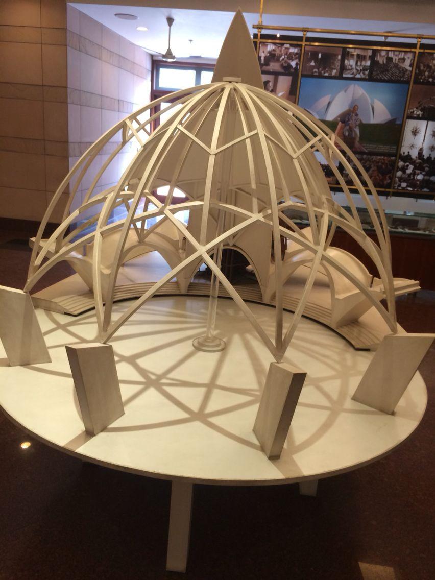 Lotus Temple Model Architecture Model Pinterest