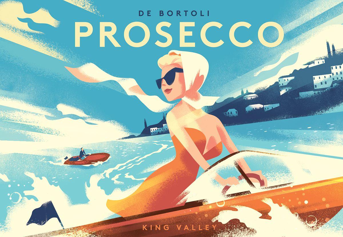 De Bortoli Prosecco on Behance