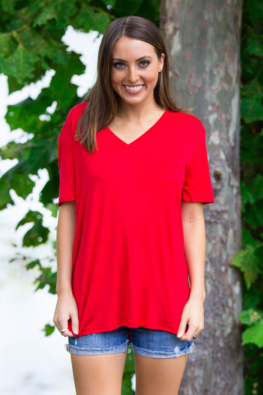 da75c1c4e1c Bamboo Spandex Short sleeve knitted top. This piko features a drop shoulder  with a loose fitted short sleeve. The width is more of a regular t-shirt.