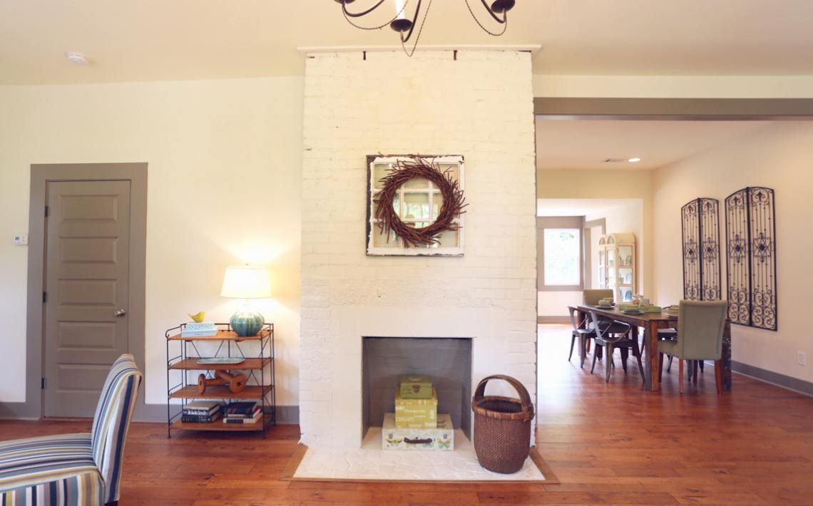 from masters of flip how cute is this fireplace diy