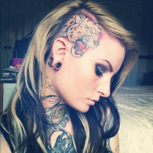 German Tattoo Girl Big Tits
