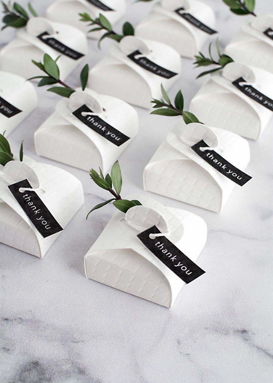 3 Simple and Modern DIY Wedding Favors - | Modern diy weddings, DIY ...
