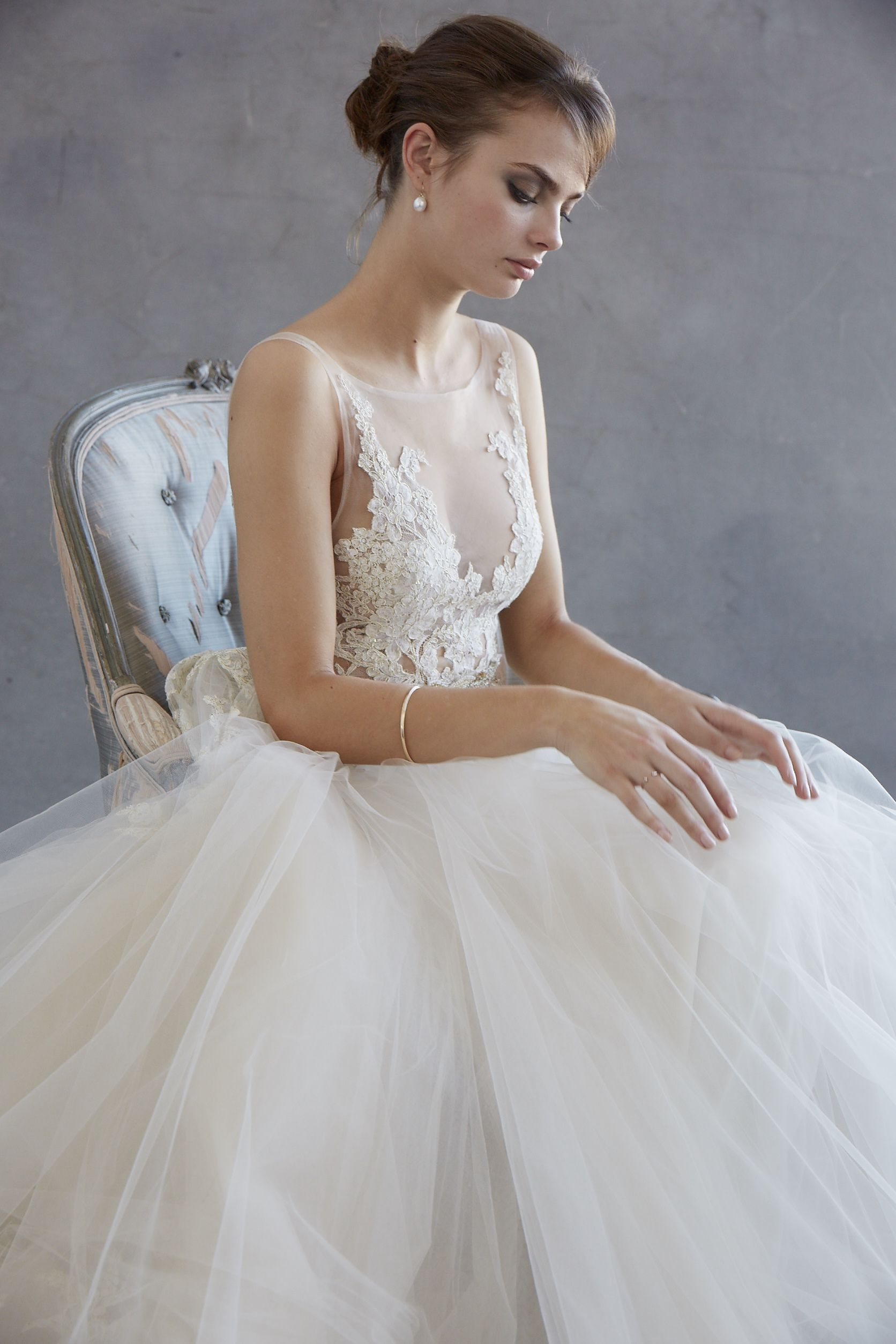 Lazaro spring ballgown style if i could pick two