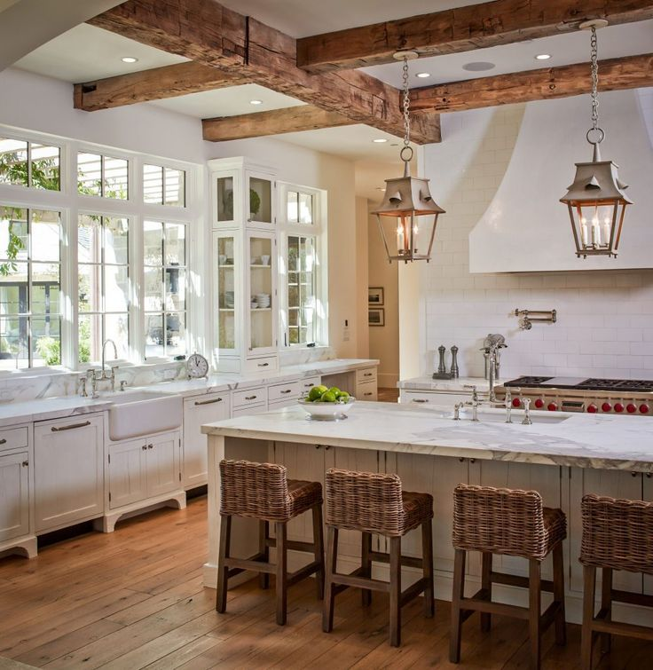 Charming Country Kitchen Decorations With Italian Style: The Charm Of French Farmhouse Kitchens