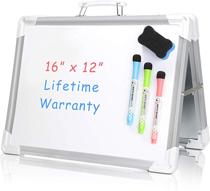 Large Marker Pen Magnetic Aluminum White Board Dry Erase Board Eraser Office US