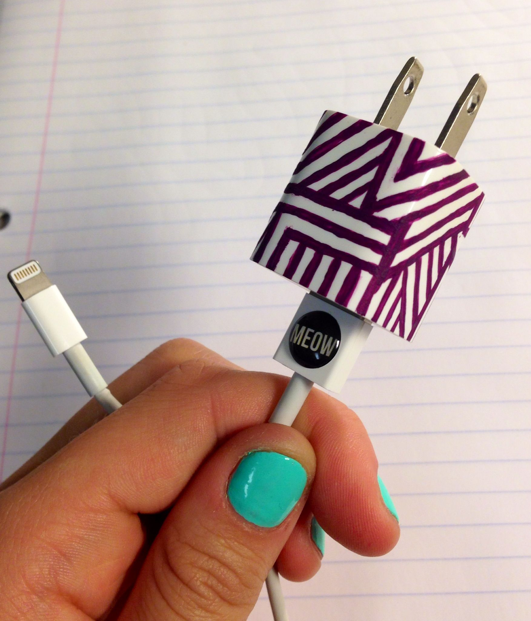 Decorative Phone Charger! Phone charger, Earbuds