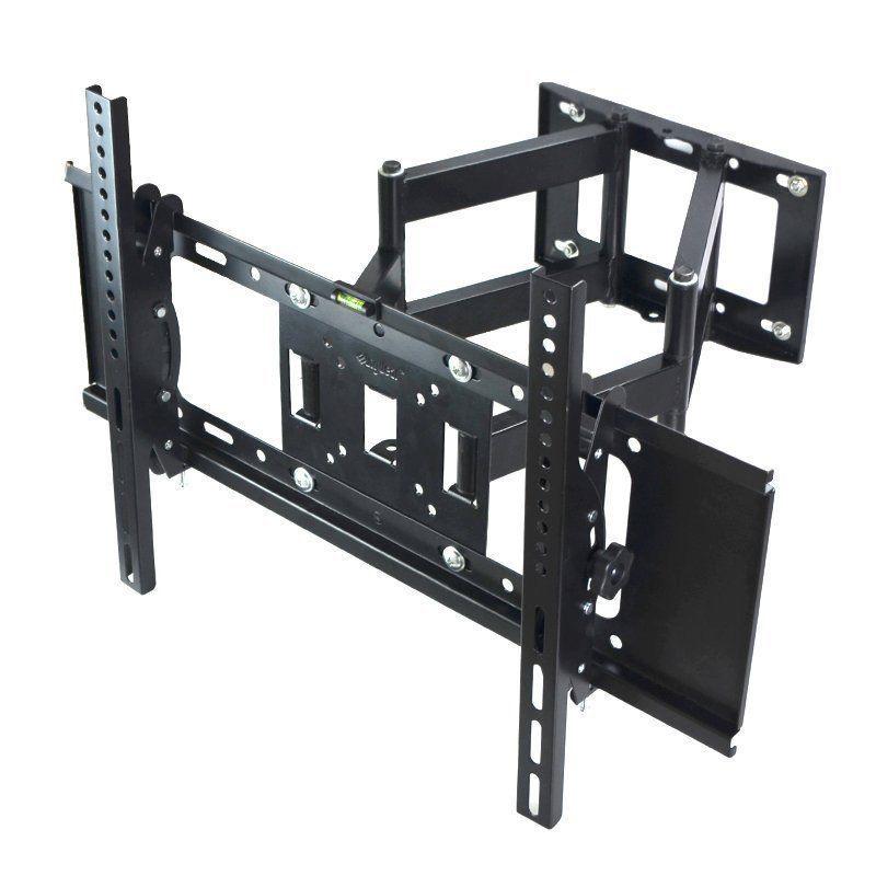 """Full Motion TV Wall Monitor Mount Tilt Swivel 27/""""32/""""37/""""42/""""46/""""47/""""52/""""55/"""" LED LCD"""