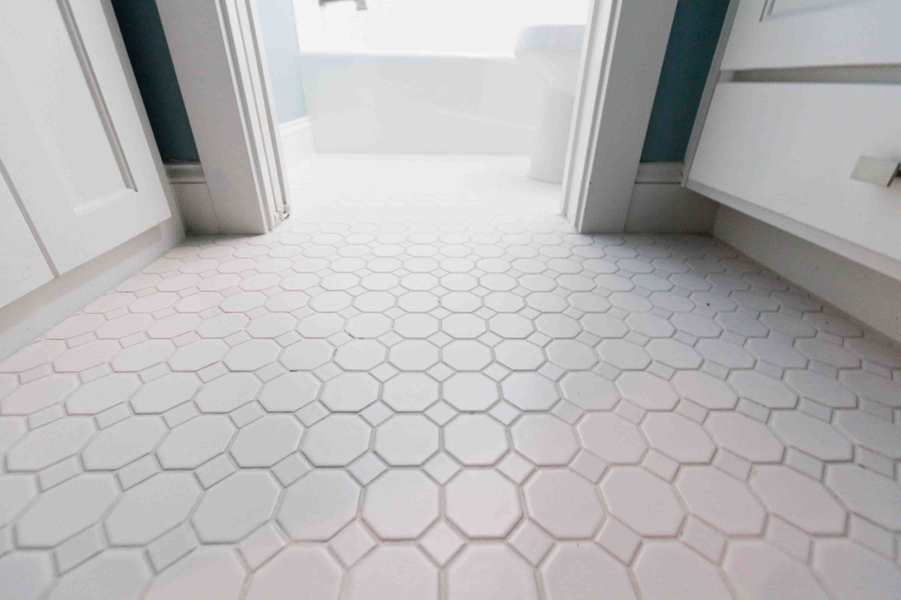 White Bathroom Tile Fullcustom White Floor Tile Bzbzjwi « Carpet ...