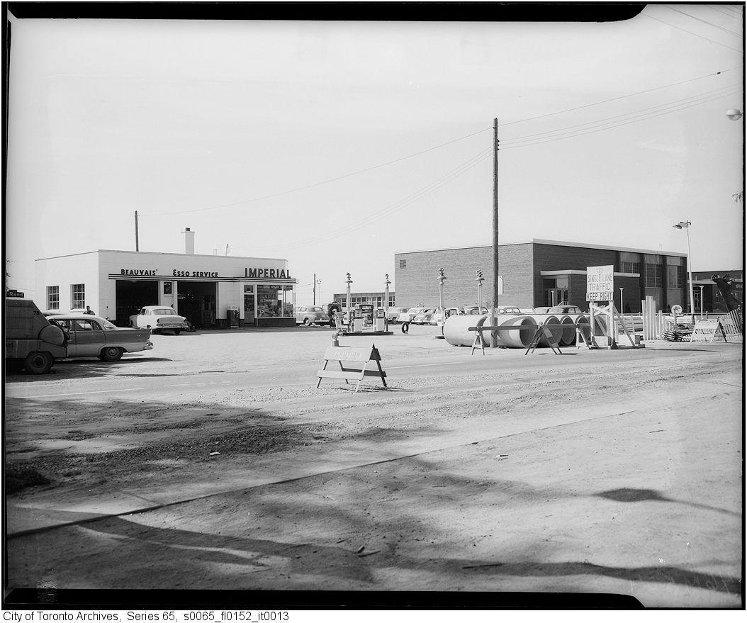vintage gas station photos around toronto - Google Search