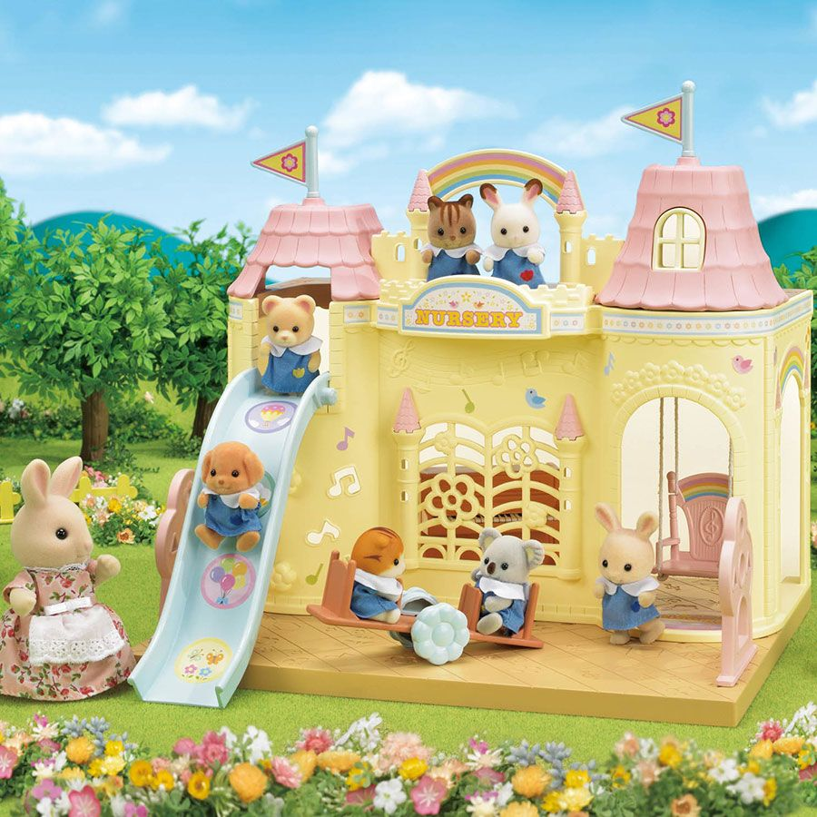 Calico Critters Baby Castle Nursery Sylvanian Families