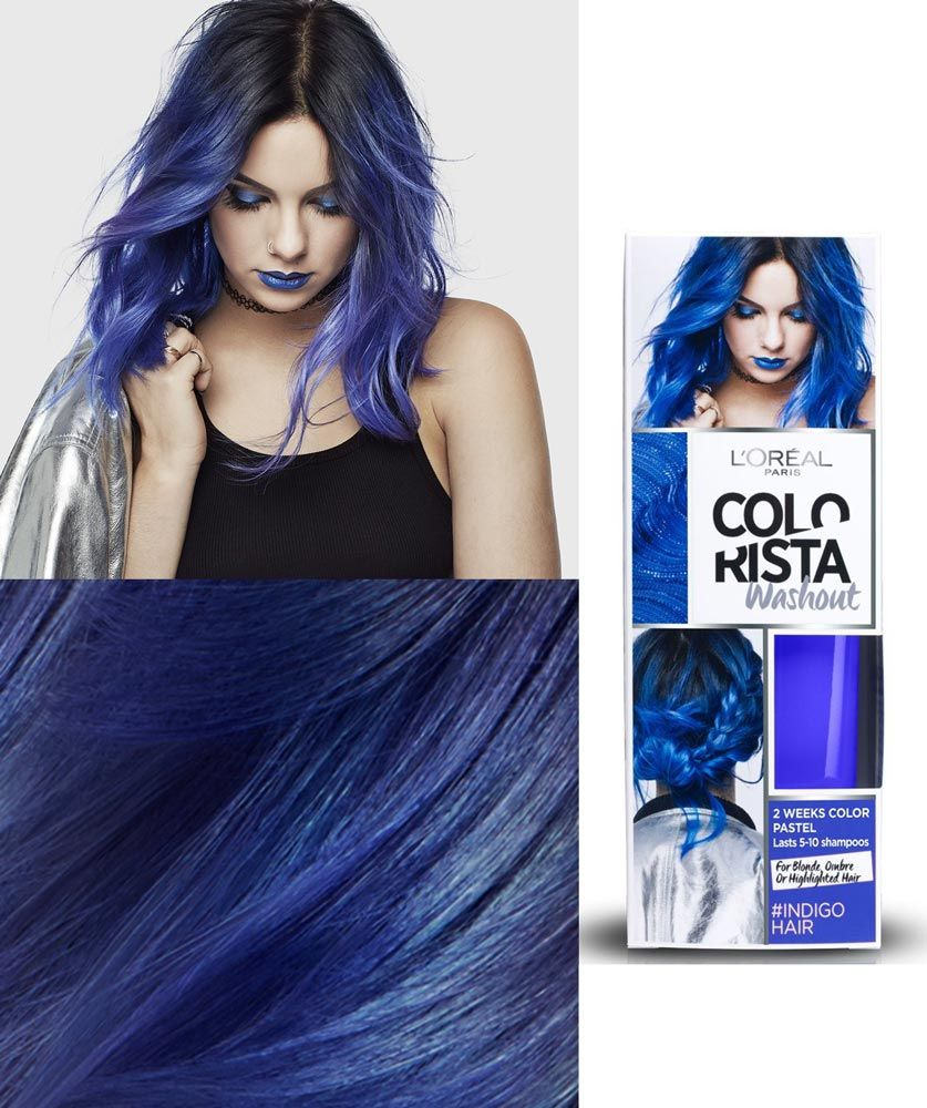 Resultado de imagem para loreal colorista blue blue hair