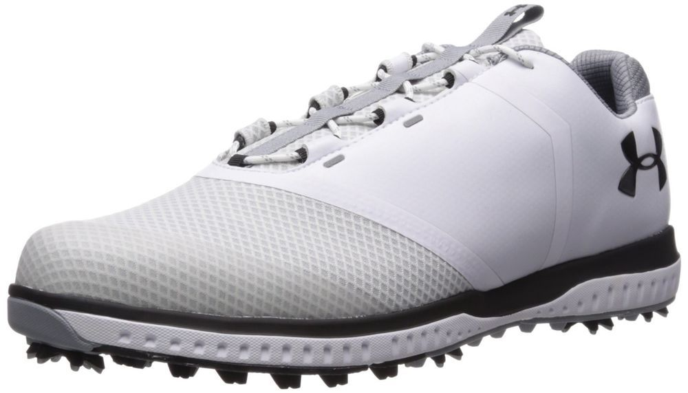 caf74284be Under Armour Men's Ua Fade RST Golf Shoes, White (White 100), 10.5 ...