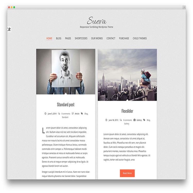 sueva-travel-blog-wordpress-theme | Travel Themes | Pinterest