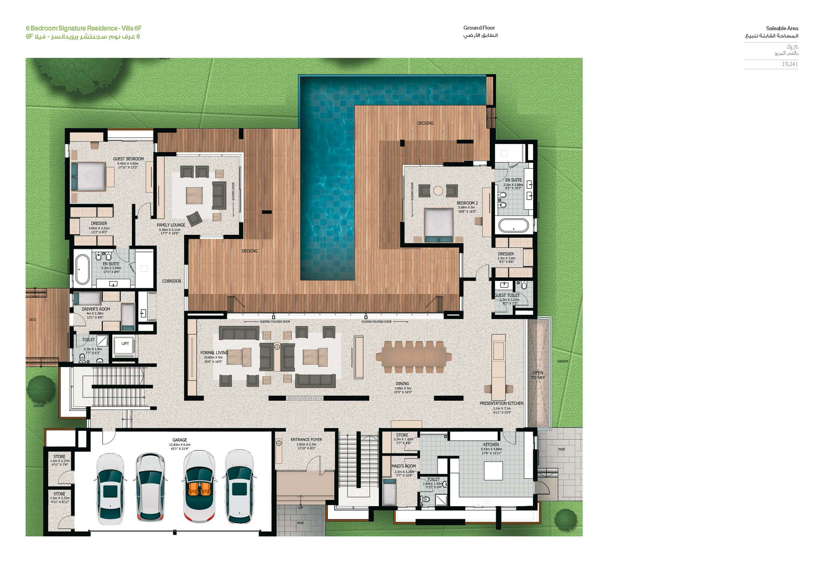 Sobha Hartland Villas Op Apartment Floor Plans Architect House House Plans