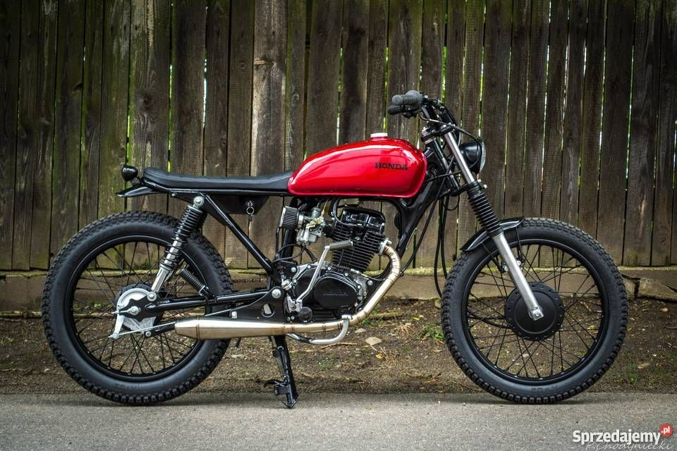 honda cg 125 scrambler cafe racer custom steel bikes. Black Bedroom Furniture Sets. Home Design Ideas