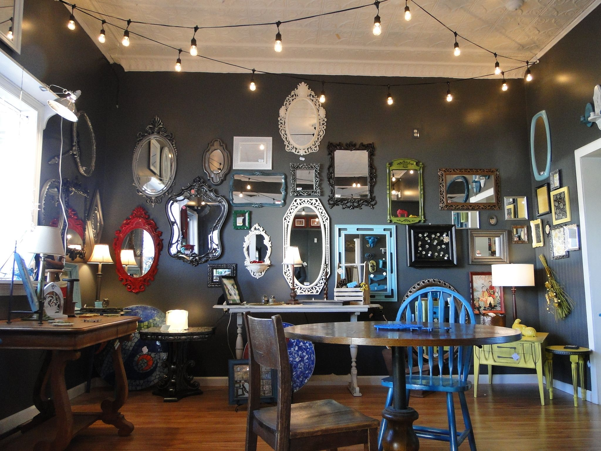 Vintage industrial decor modern hartville ohio home coffee shops also interior advancing abilities pinterest shop and rh