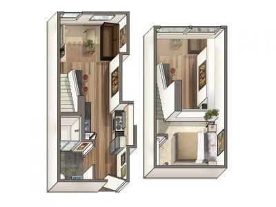 Affordable Santa Monica Studio Loft Apartments Near Santa Monica